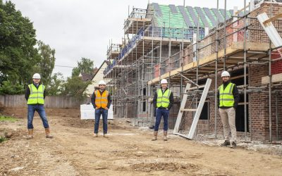 Stonewood tops out its first show home in Great Somerford