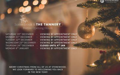 Stonewood Partnerships Christmas Opening Hours