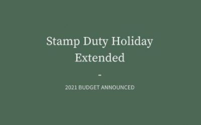 Stamp Duty Extension Announced