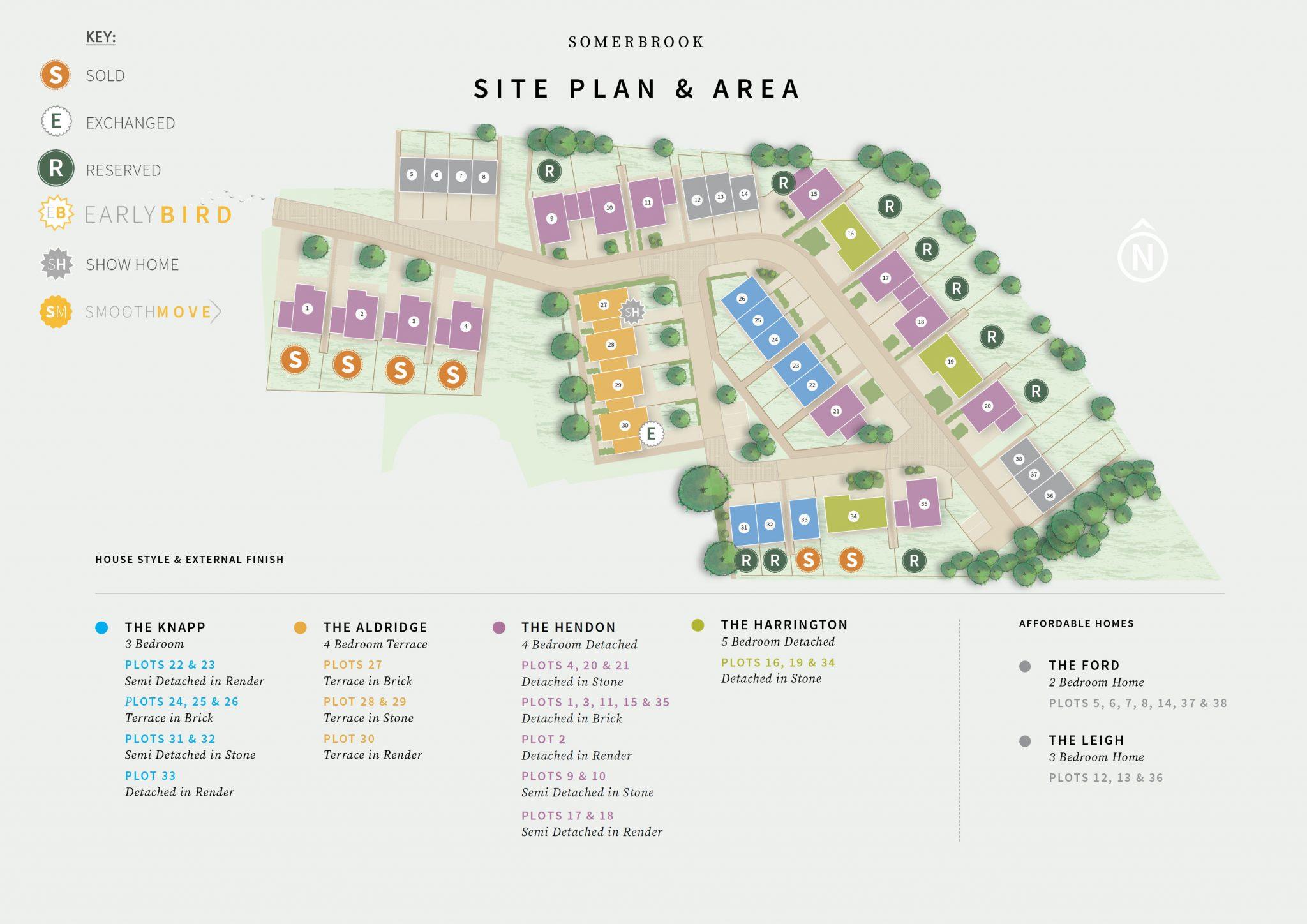Somerbrook - Site Plan